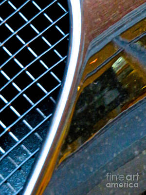 Amorphous Metal Photograph - Ferrari 7 Abstract by Ken Lerner
