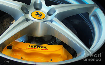 Photograph - Ferrari A Thing Of Beauty by Rene Triay Photography