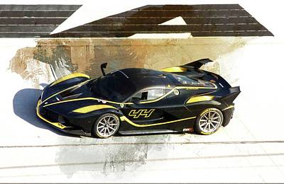 Photograph - Ferrari Blacks by Alice Gipson