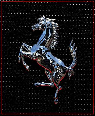 Ferrari Emblem 2 Art Print