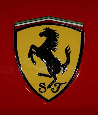 Ferrari Emblem 4 Art Print