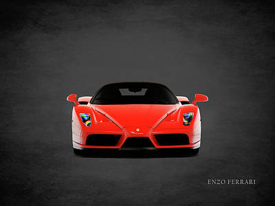 Photograph - Ferrari Enzo Ferrari by Mark Rogan