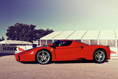 Photograph - Ferrari Enzo by Joel Witmeyer
