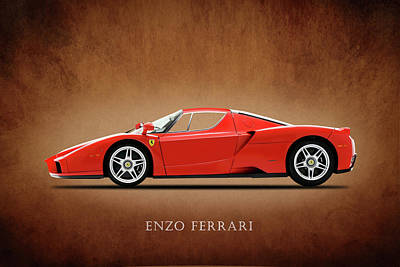 Photograph - Ferrari Enzo by Mark Rogan