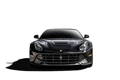 Digital Art - Ferrari F12 Berlinetta by Douglas Pittman