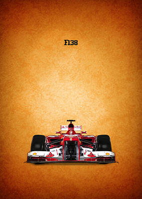 Ferrari Photograph - Ferrari F138 by Mark Rogan