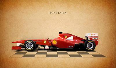 Formula 1 Photograph - Ferrari F150 Italia by Mark Rogan