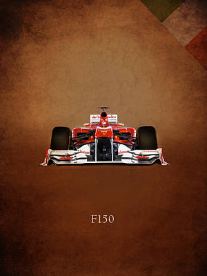 Formula Car Photograph - Ferrari F150 by Mark Rogan