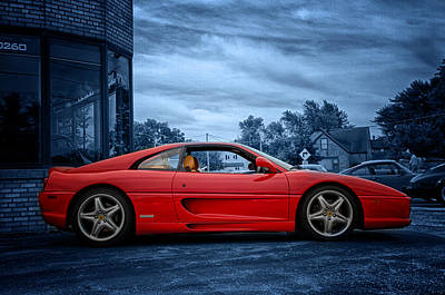 Photograph - Ferrari F355 by Joel Witmeyer