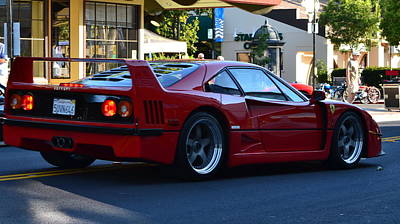 Photograph - Ferrari F40 by Dean Ferreira