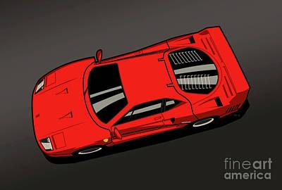 Ferrari F40 Red Original