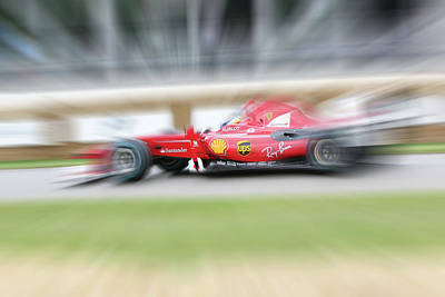 Digital Art - Ferrari F60 2009 by Roger Lighterness