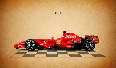 Formula One Photograph - Ferrari F60 by Mark Rogan