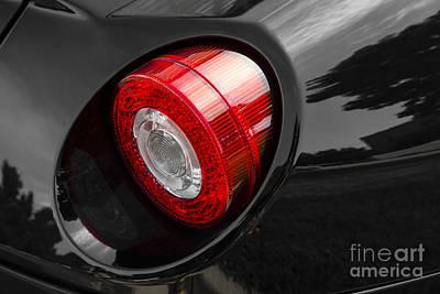 Photograph - Ferrari Gto Taillight by Dennis Hedberg