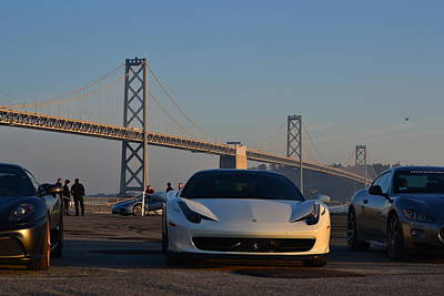 Photograph - Ferrari In San Francisco by Dean Ferreira