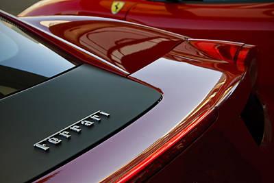 Ferrari Italia Art Print