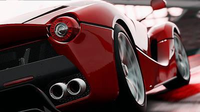 Photograph - Ferrari, Laferrari - 1 by Andrea Mazzocchetti