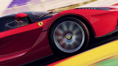 Photograph - Ferrari, Laferrari - 2 by Andrea Mazzocchetti