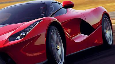 Photograph - Ferrari, Laferrari - 7 by Andrea Mazzocchetti