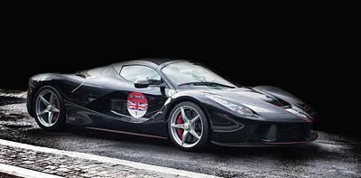 Genoa Photograph - Ferrari by Martin Newman