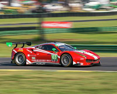 Photograph - Ferrari Nielsen  Balzan by Alan Raasch