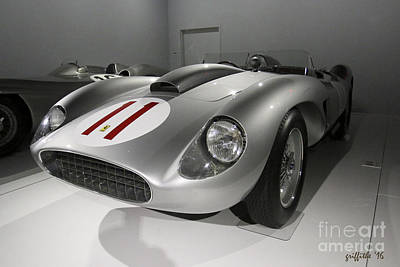 Photograph - Ferrari No. 11 by Tom Griffithe