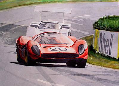 Ferrari P4 Le Mans Art Print