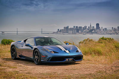 Photograph - #ferrari #speciale On #angel #island by ItzKirb Photography