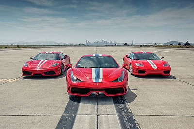 Photograph - #ferrari #speciale, #scuderia And #challenge #stradale by ItzKirb Photography