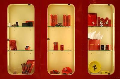 Photograph - Ferrari  Stuff by Rob Hans