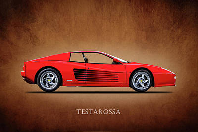 Supercar Photograph - Ferrari Testarossa by Mark Rogan