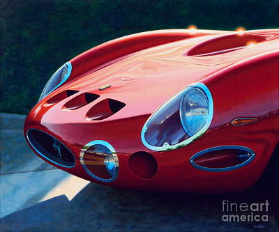 Ferrari Two Fifty Gto Art Print by Frank Dalton