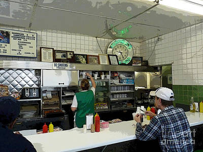 Photograph - Ferrells Diner by David Bearden