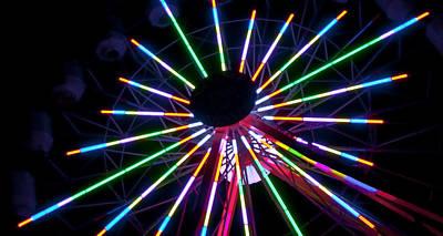 Rowing - Ferris Wheel 10 by Angus Hooper Iii