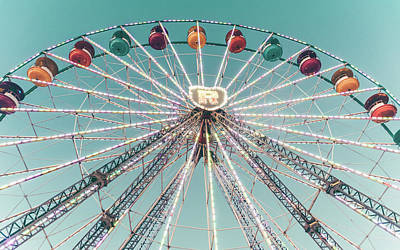 Photograph - Ferris Wheel 7 by Andrea Anderegg
