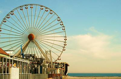 Photograph - Ferris Wheel by Amanda Romolini