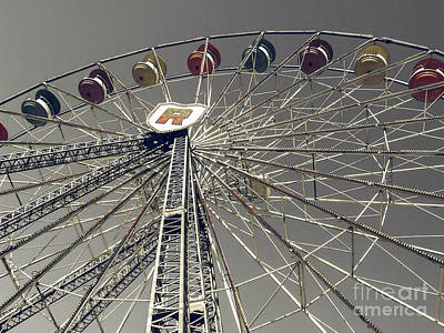 Photograph - Ferris Wheel by Andrea Anderegg