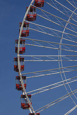 Abstract Works - Ferris Wheel by Andrei Shliakhau