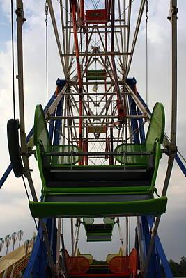 Ferris Wheel Art Print by Anne Babineau