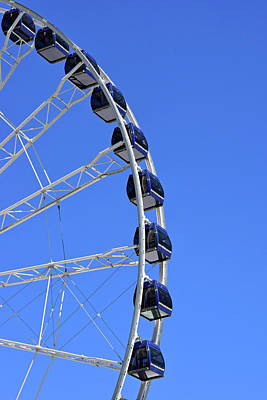 Photograph - Ferris Wheel At Navy Pier, Chicago No. 1 by Sandy Taylor