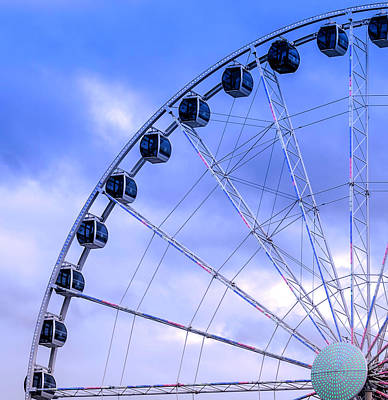 Photograph - Ferris Wheel by Cathy Donohoue