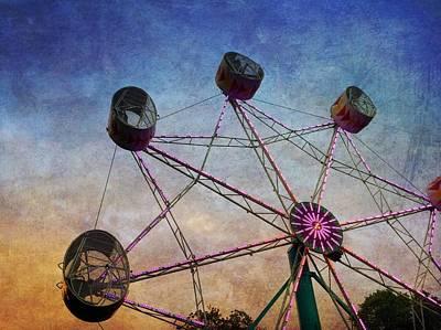 Photograph - Ferris Wheel by Chris Montcalmo
