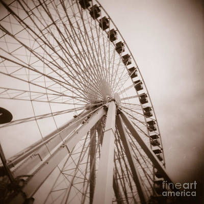 Photograph - Ferris Wheel by Crystal Nederman