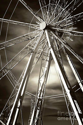 Photograph - Ferris Wheel Dreams by John Rizzuto