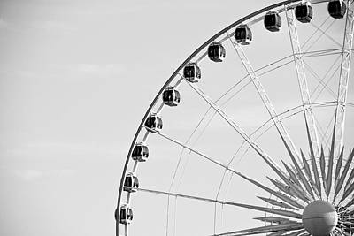 Ferris Wheel Art Print by Edward Myers