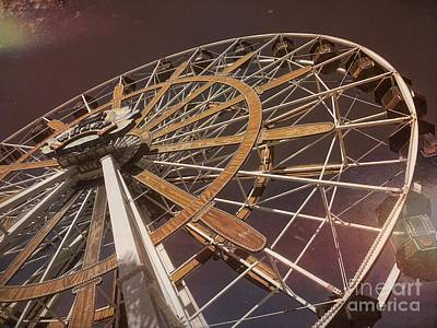 Photograph - Ferris Wheel Fun In Orange Beach Alabama by Luther Fine Art
