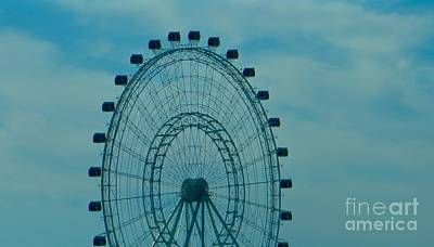 Photograph - Ferris Wheel Fun by Joy Hardee