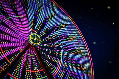 Modern Man Surf - Ferris Wheel Fun by June Marie Sobrito