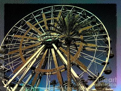 Photograph - Ferris Wheel In Orange Beach by Luther Fine Art