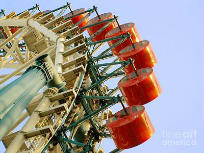 Photograph - Ferris Wheel by Eena Bo